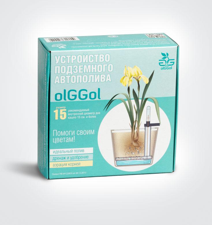 Устройство автополива комнатных растений Ол Джи-15. Подходит для горшков и кашпо от 15 до 19 см.